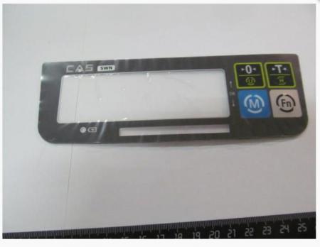SWN наклейка клавиатуры Артикул: SWN KEY BOARD PAD 3200SWL00CI0