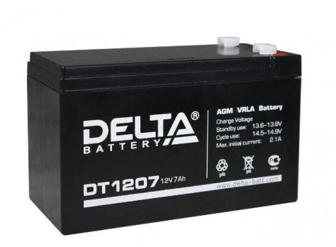 Компл.части к весам/аккумулятор Delta DT 1207 (THD)