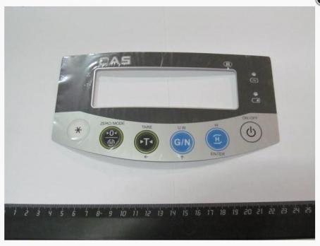 Компл. части к весам/ BI-2RB наклейка клавиатуры