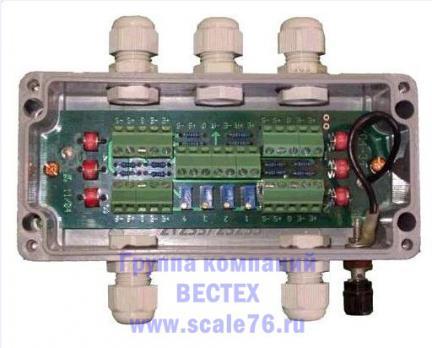 Коробка балансировочная БКС-4-2
