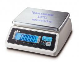 Весы влагозащищенные CAS  SWN-3CW