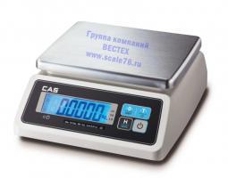 Весы влагозащищенные  CAS  SWN-6CW