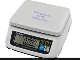 Настольные весы  CAS SWN - 6 двухдиапазонные.
