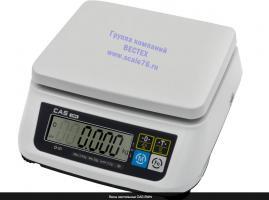 Настольные весы  CAS SWN - 30 двухдиапазонные.