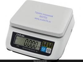 Настольные весы  CAS SWN - 3 двухдиапазонные.