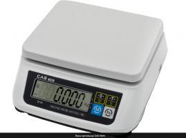 Настольные весы  CAS SWN - 15 двухдиапазонные.
