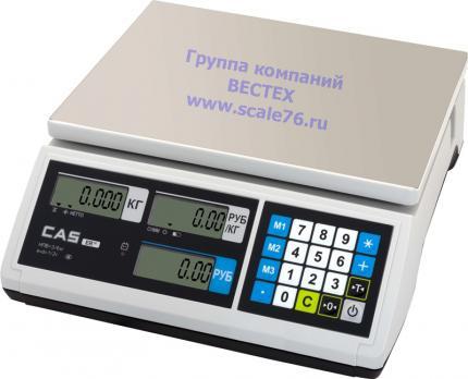 Весы CAS ER JR-15CB