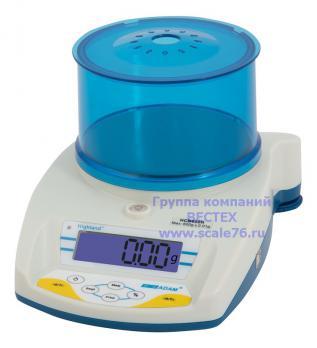 Весы лабораторные ADAM HCB123 (II выс)
